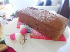 チョコレートモカローフケーキ